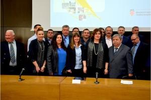 Popisan ugovor za I. fazu izgradnje pješačkih staza u Općini Gorjani